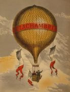 H. Lachambre - Vintage French Hot Air Balloon Travel Poster